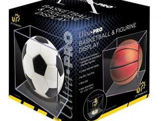 Clear Square UV Basketball Glass Case