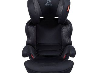 Diono Everett NXT latch Booster Car Seat   Black