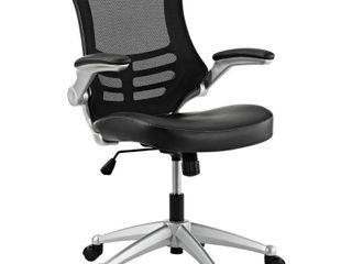 Modway Attainment Office Chair with leatherette Seat  Multiple Colors   inspected
