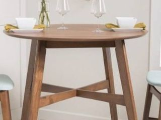 Carson Carrington lund Wood Counter height Round Dining Table   Retail 331 99