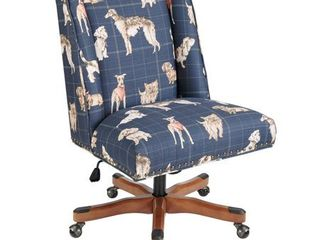 Violet Home Office Chair  Retail 259 99 Navy Dog