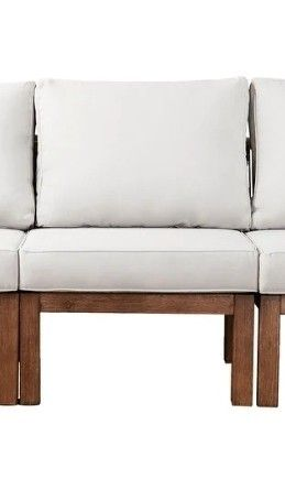 Belen Contemporary Natural Wood Chair by Havenside Home   Retail 843 49