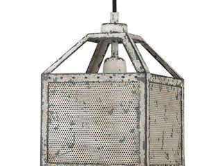 Acclaim lighting IN31510 Aged Ivory Iris 1 light 8  Wide Mini Pendant