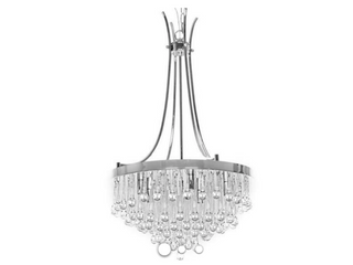 First lighting Adorea 5 light Crystal Chandelier