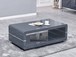 Best Quality Furniture Modern High Gloss Coffee Table   Retail 374 49