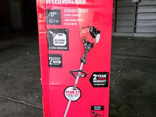 Craftsman Ws410 30 cc 4 cycle 17 in Straight Shaft Gas String Trimmer