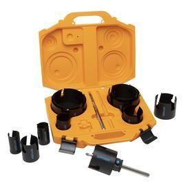 Spyder 14 Piece Carbide Tipped Deep Cut Hole Saw Kit