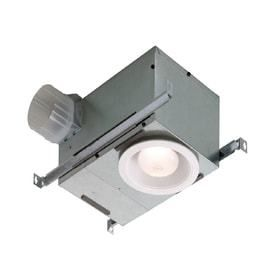 Broan 744 70 CFM White Recessed Fan With light   missing parts