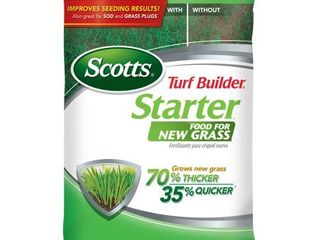 Scotts Turf Builder Starter Food for New Grass  1m  Not Sold in Pinellas County  Fl