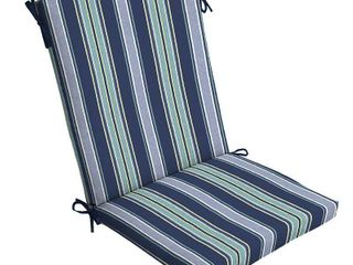 Arden Selections Sapphire Aurora Stripe 44 x 20 in  Outdoor Chair Cushion