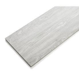 Rubbermaid laminate 11 8 in D x 71 8 in l x 0 625 in W Driftwood Grey Shelf Board