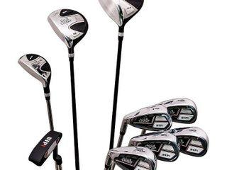 JEF World of Golf Men s 9 Piece Golf Set   inspected