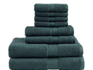Madison Park Signature 800 GSM Cotton 8 piece Towel Set