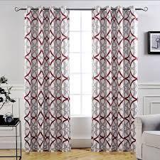 Carson Carrington Jarvenpaa Insulated Blackout Grommet Window Curtain Panel Pair