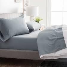 Brookside grey california king sheets