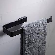 kraus stelios bathroom towel ring black