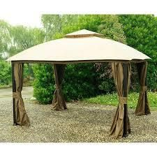 sunjoy light brown canopy cover only