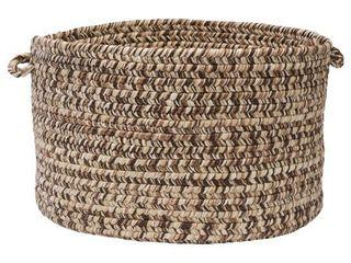 Canyon  18 inch Tweed Braided Basket