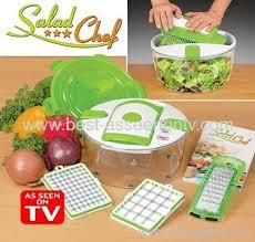 genius double grater salad set