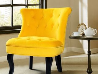 Jane Accent Chair  Retail 219 99 yellow