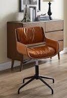 Carbon loft Nasim Height adjustable Swivel Accent Home Office Desk Chair  Retail 163 99 brown