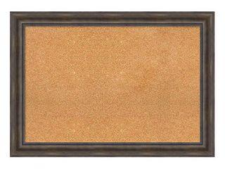 Framed Cork Board  Rustic Pine  Retail 246 98