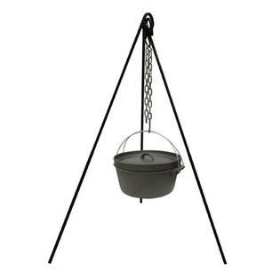 Stansport Cast Iron Cooking Tripod   Black  MISSING CHAIN