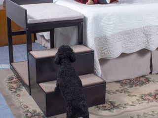 Penn Plax Multi level Pet Dog Stairs  Multicolor