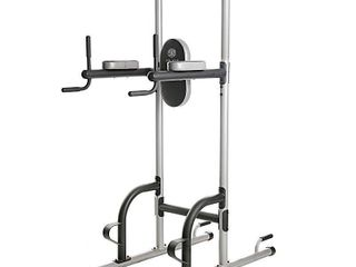 ProForm XR 10 9 Power Tower with Push Up  Pull Up   Dip Stations to Build Strength at Home