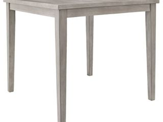 Parellen Counter Height Dining Table Distressed Gray   Signature Design by Ashley