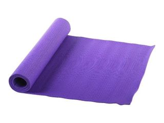 sunny health and fitness yoga mat  purple