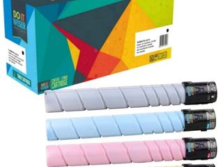 Compatible Konica Bizhub C368 Toner Set by Do it Wiser