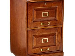 Coaster Home Furnishings 5317N Traditional File Cabinet  Oak   top drawer does not slide in and out very well