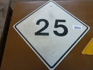 aluminum railway sign