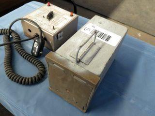 2 items  dental x ray timer   document box