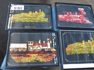 5 train prints