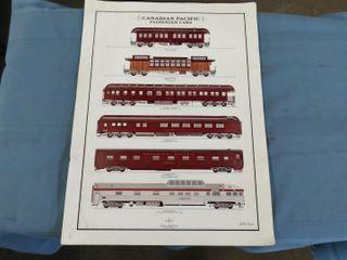 unframed railroad print