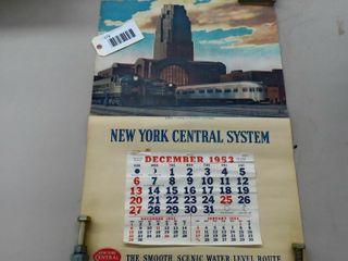 NYC Systems 1953 Calendar