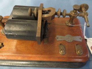 JH Bunnell   Co  telegraph key