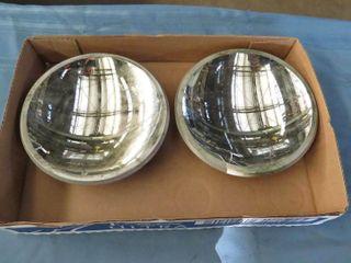 2 signal light mirrored back lenses