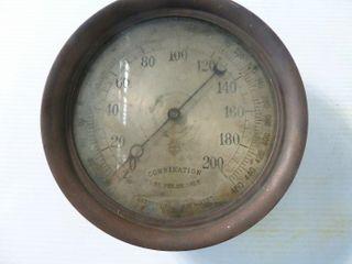 large pressure gauge