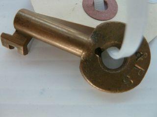 1 railroad key marked l PS