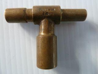 2 railroad keys marked PINTSCH