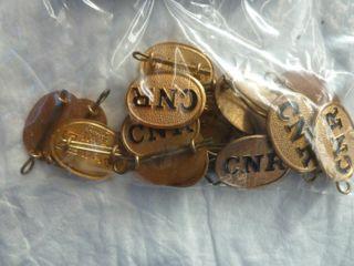 17 CNR hat badges