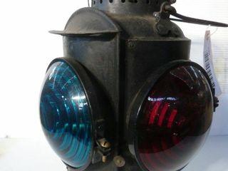 Piper railroad signal lantern