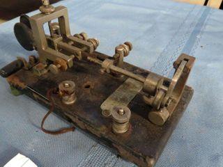 The Vibroplex telegraph key