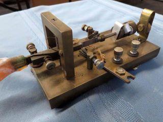 metal telegraph key