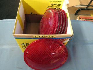 7 red railway lenses