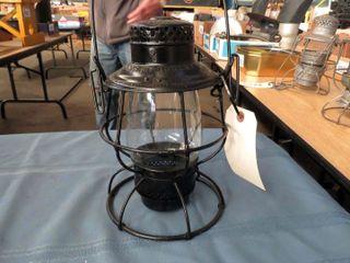 Adlake railroad lantern  marked Pere Marquette