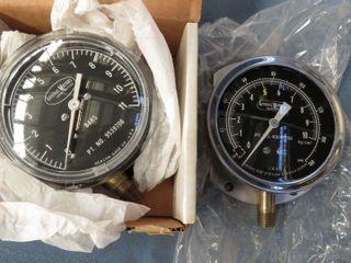 2 General Motors pressure gauges